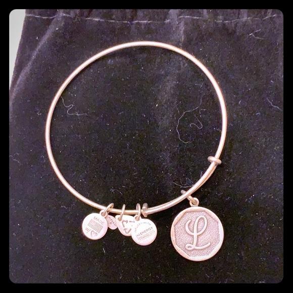 Alex and Ani Jewelry - Silver L Alex & Ani bracelet
